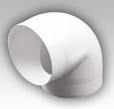 Колено (уголок) для пластиковых вентканалов