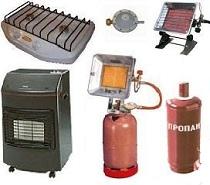 Бытовые газовые баллоны, настольные плитки, газобаллонное оборудование и комплектующие