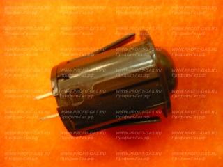 Кнопка подсветки духовки для плит Гефест, Брест ПКН-501-2 белая