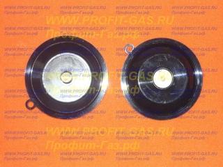 Мембрана диафрагма с тарелкой для водяного узла газовой колонки NEVA Lux-5513, NEVA Lux-5514, NEVA Lux-6011, NEVA Lux-6013, NEVA Lux-6014