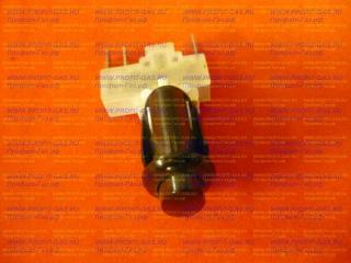 Кнопка розжига горелок для плиты Гефест овальная коричневая