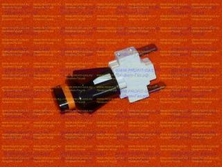 Кнопка подсветки духовки к плитам Гефест овальная черная ПКН-507-223
