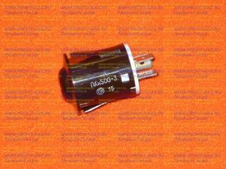 Кнопка розжига горелок плиты Гефест, Брест коричневая ПКН-500-3