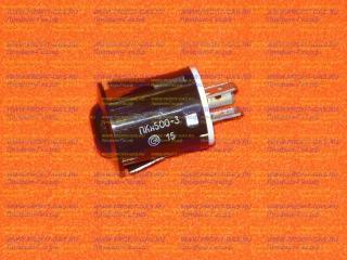 Кнопка подсветки духовки Гефест, Брест ПКН-501-3 коричневая