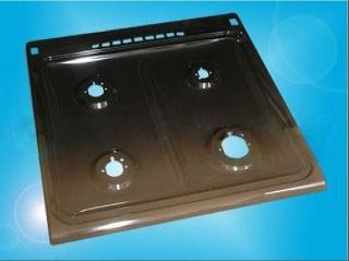 Стол /верхняя панель/ плиты Гефест 1200, -1300, -6100, GEFEST-1200, -1300, -6100 с розжигом 600*600 мм коричневый