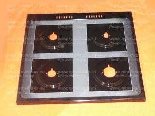Стол газовой плиты GEFEST-1500 К32 (с 01.04.2012 г.в.) для горелок SOMIPRESS черный
