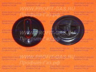 Ручка переключателя электроплиты GEFEST-1140, GEFEST-ДА102, GEFEST-ДА122, GEFEST-ДА602 черная