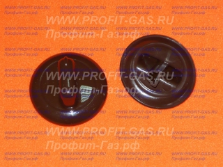 Ручка переключателя электроплиты GEFEST-1140, GEFEST-ДА102, GEFEST-ДА122, GEFEST-ДА602 коричневая
