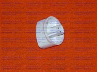 Ручка крана  для плиты MORA, GORENJE белая. Заводской код 374959