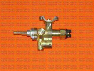 Кран горелки конфорки Дарина с газконтролем под клемму (природный газ) №83