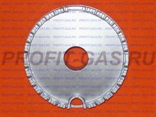 Рассекатель горелка конфорка большая газовой плиты Hansa. Заводской код 8023674
