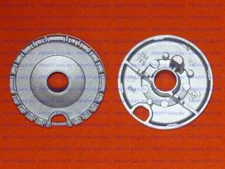 Рассекатель горелка конфорка средняя газовой плиты Hansa FCGW57001011. Заводской код 8023673