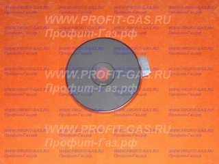 Малая экспресс конфорка (блин) с кольцом для электроплиты (ЭКЧ 145-1,5 кВт)