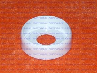 Воротник ручки крана (белый) к газовым плитам «Indesit» C00117530