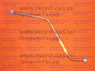 Трубка медная газовой колонки НЕВА 3208, ВПГ-23 для отвода горячей воды от теплообменника №467