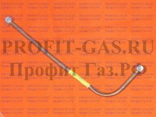 Трубка медная газовой колонки НЕВА 3208, ВПГ-23 от водяной части к теплообменнику