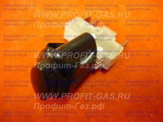 Кнопка розжига на газовую плиту Гефест овальная черная ПКН-506-222