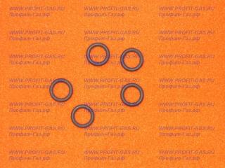 Прокладка уплотнительная ГМГ 2.07 (резиновое кольцо) между газ. краном и соед.трубкой