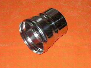 Переходник (AISI 430/0.5мм) 100 внутренний (м) - 120 наружный (п)
