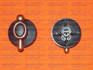 Ручка крана газовой плиты DARINA GM241 1Е6 бронза