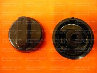 Ручка крана конфорки Брест 1457-01 старого образца белая