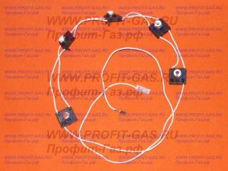 Блок кнопок автоэлектророзжига Гефест 5300, 5500, 6100, 6300, 6500