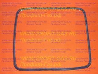 Резина уплотнительная дверки духовки плиты Gorenje. Профиль О-образный. Заводской код 593514
