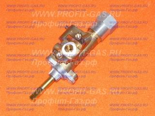 Кран большой горелки конфорки с газ-контролем газовой плиты GEFEST 5100, GEFEST 5300, GEFEST 6100, GEFEST 6300, GEFEST 6500 (ВМП-40)