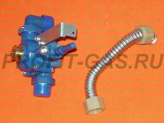 Водяной узел для газовых колонок NEVA LUX 5611, NEVA LUX 6011 комплектно