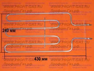 Нагревательный элемент ТЭН в духовку нижний 1,4кВт