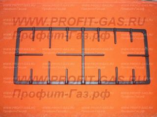 Решетка плиты Дарина GM 241 исполнение 1D1 чугунная (половинка)