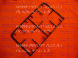 Решетка плиты Гефест-3200, GEFEST-5100 чугун (половинка) (3300.03.0.000)