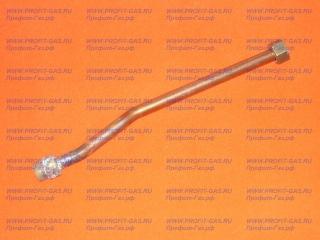 Трубка медная газовой колонки NEVA-5513, NEVA-5514 для отвода горячей воды от теплообменника