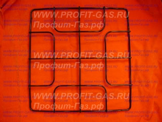 Решетка стола Гефест-3100, Гефест-3200, Гефест-3300 профильная 450х460мм