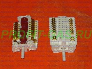 Переключатель мощности духовки на 9 режимов для плиты Гефест-5102 (-03,-04), GEFEST 6140 (-02,-03), GEFEST 6502 (-03,-04) с 01.08.13г,в. (891003, 11НЕ/285)