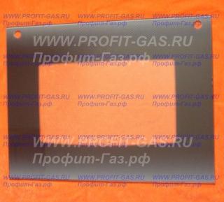 Стекло наружное GEFEST-1200С К19 коричневое с отверстиями (598х450мм)
