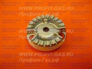 Рассекатель горелка конфорка малая газовой плиты Hansa. Заводской код 8037913