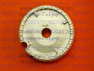 Рассекатель большой горелки конфорки газовой плиты Indesit. Заводской код C00257566