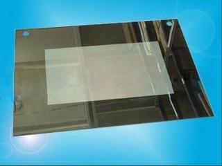 Стекло наружное GEFEST-1140 зеркальное, с отверстиями для ручки духовки (598х442мм)