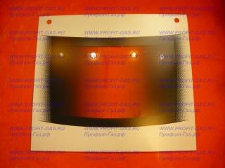 Стекло духовки наружное GEFEST-3100 белое с отверстиями (496х432мм)