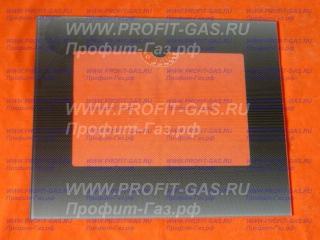 Стекло наружное GEFEST-3200, GEFEST-3300 черное с термоуказателем (497х409мм)