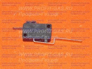 Микровыключатель (концевой выключатель) к газовой колонке NEVA-5513, NEVA-5514, NEVA-6011, NEVA-6013, NEVA-6014