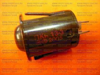Кнопка розжига горелок газовой плиты Гефест, Брест коричневая ПКН-13-3