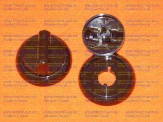 Ручка крана газовой плиты Гефест-3300, GEFEST-3500 коричневая