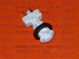 Кнопка розжига ПКН-526.2-111 белая для газовой плиты GEFEST-5500