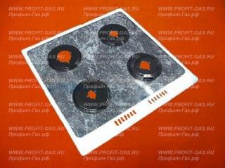 Стол /верхняя панель/ плиты Гефест 1500, GEFEST-1500 для горелок SOMIPRESS серый мрамор