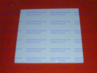 Крышка плиты Гефест-1140 эмалированная белая
