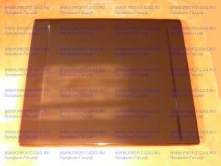 Крышка плиты Гефест-6100 эмалированная коричневая