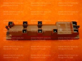 Блок электроподжига для плит Гефест 5100-01, 5100-02, 5100-04 многоразрядный 6-ти канальный