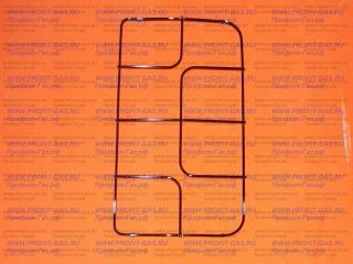 Решетка плиты Гефест-1100, GEFEST 1200 профильная (половинка)